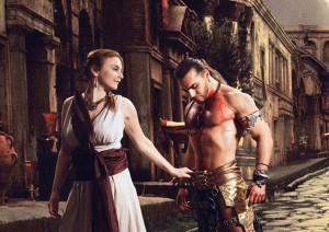 фракиец и его девушка